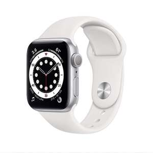 Apple watch series 6 44mm rood, roze en zilver