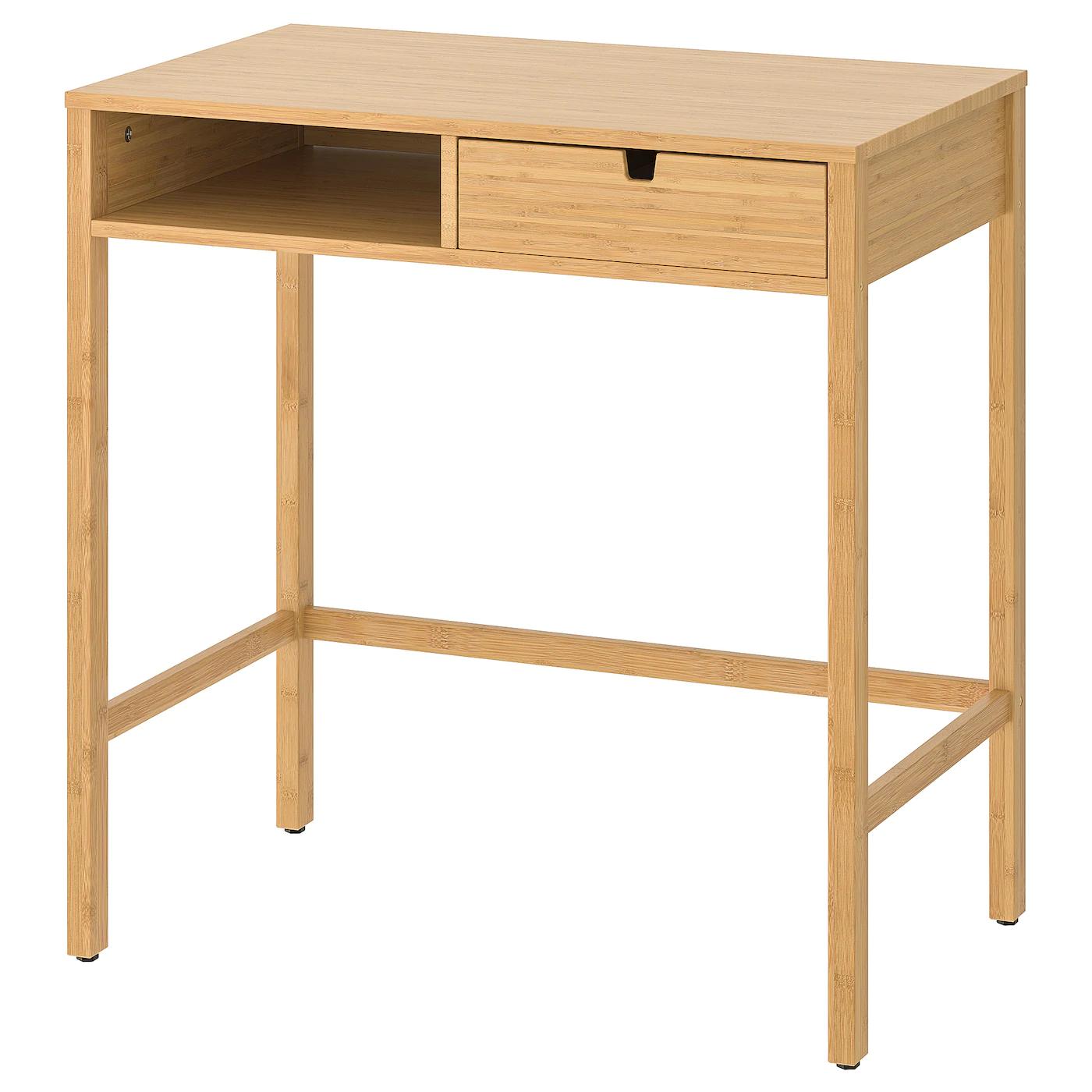 Bamboe toilettafel NORDKISA €99,95 @Ikea