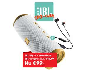 JBL Flip 5 Tomorrowland Edition + JBL Tune 115BT @ Art & Craft