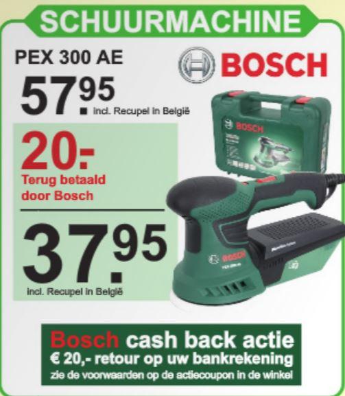 BOSCH Excentrische schuurmachine PEX 300 AE #Hornbach