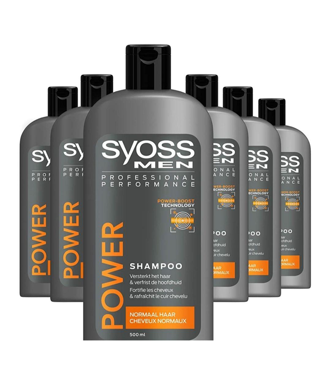 Syoss Shampoo (6 flessen)