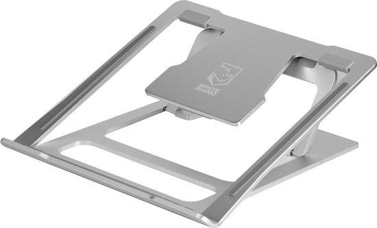 Verstelbare aluminium laptop standaard voor €1 @ Bol.com Plaza