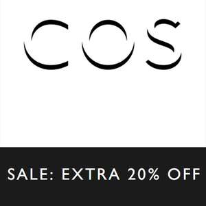 SALE tot -70% + 20% EXTRA @ COS