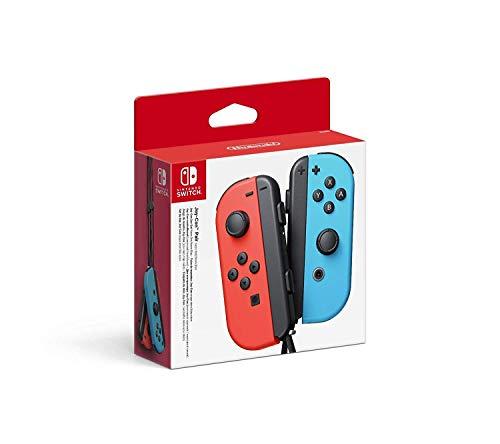 Nintendo Switch Joy-con controllers rood/blauw voor €48,07 @ Amazon FR