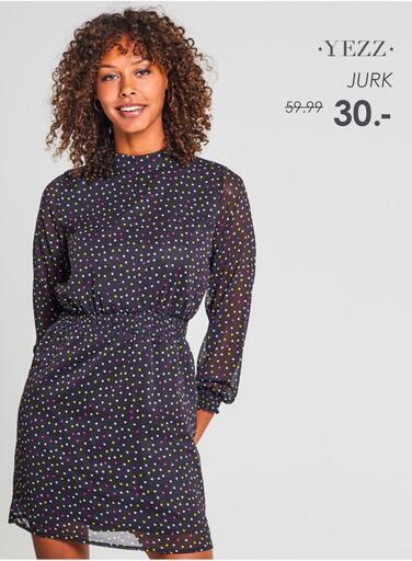 Garcia Yezz jurk met allover print voor €2,50 @ Jeans Centre