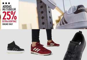 Actie: 25% [extra] korting op adidas @ PERRY