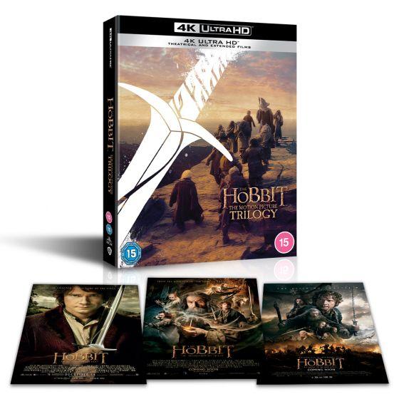 The Hobbit Trilogy 4K Ultra HD (Theatrical + Extended Edition) @ JP.DE