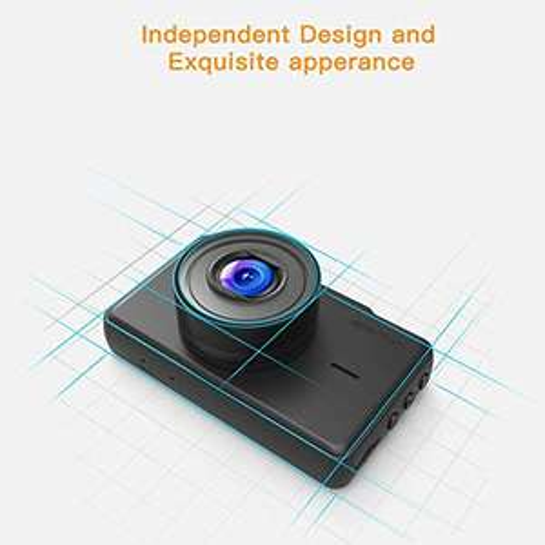 APEMAN Dashcam 1080p Full HD DVR autocamera met groothoeklens