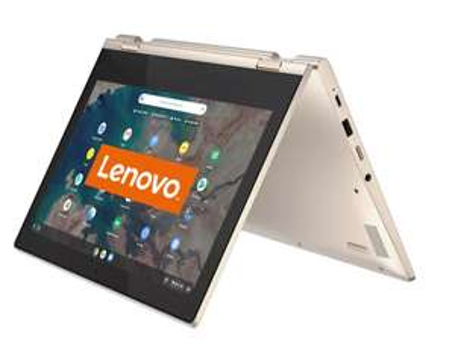 (Mediamarkt) LENOVO IdeaPad FLEX 3 11 Chrome Touch - (N4020) 4GB 64GB Grijs