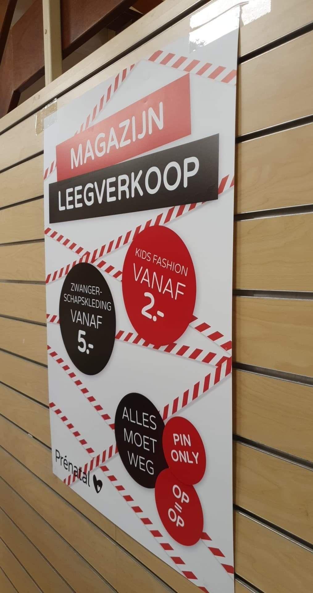[Lokaal] Prenatal Aalsmeer - Magazijn leegverkoop