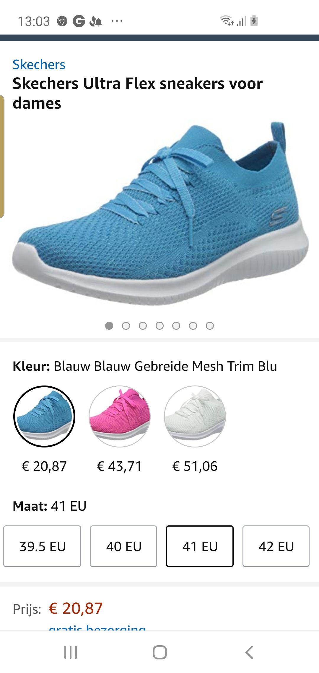 Skechers Ultra Flex sneakers voor dames