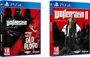 Wolfenstein: The New Colossus + Wolfenstein: The new Order and The Old Blood Double Pack - PS4