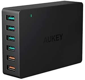 AUKEY Quick Charge 3.0 Multi USB-oplader