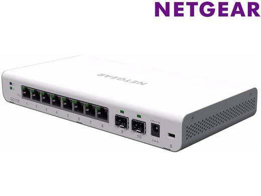 Netgear GC110 (cloud) managed switch