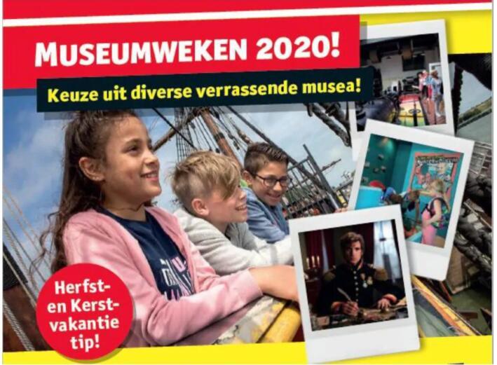 Museumweken Kruidvat toegangskaart kind/volwassene