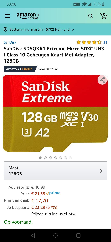 Micro Extreme 128GB SDXC