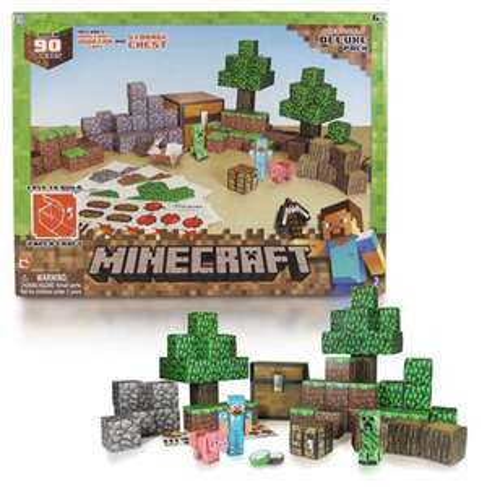 Speelset Minecraft Bovenwereld voor €19,99 @ Bart Smit