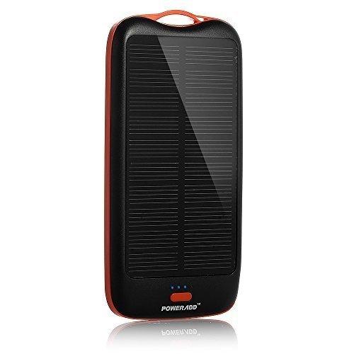 Poweradd Apollo2 10000mAh Solar Powerbank voor €15,68 @ Amazon.fr