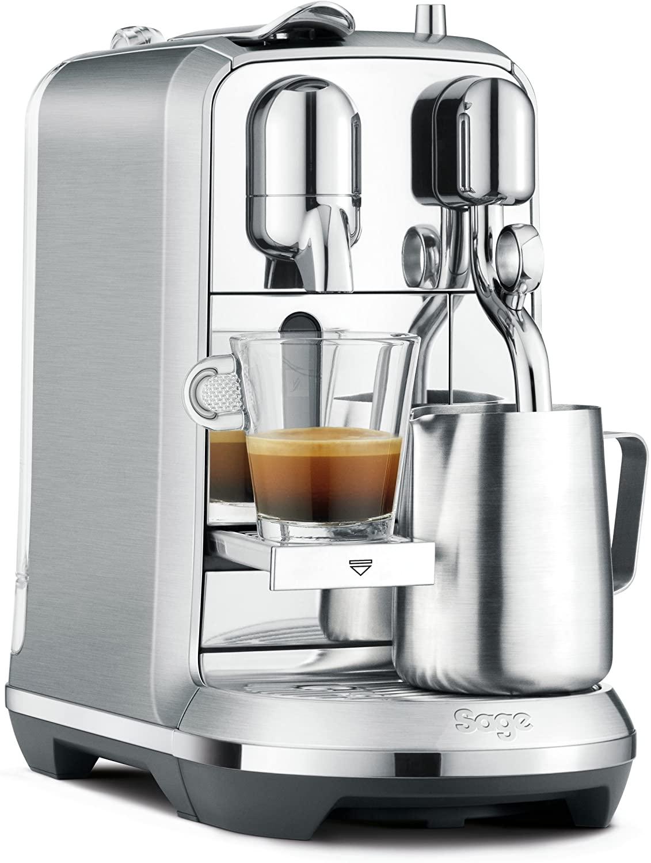 [PRIME] Nespresso Sage Creatista plus RVS @amazon.nl