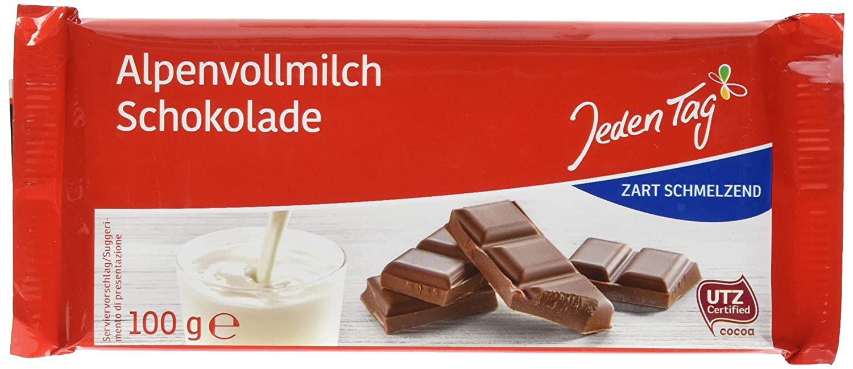 Jeden Tag Chocoladereep 100G
