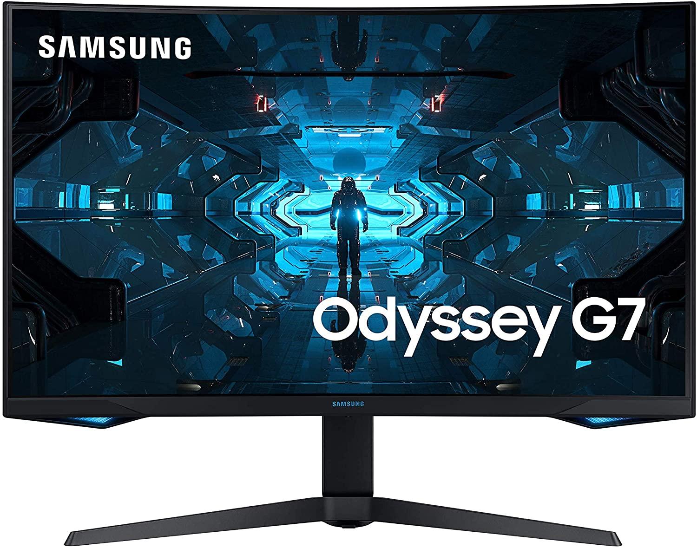 "[AMAZON PRIME ITALIË] Samsung Odyssey G7 27"" Monitor 2560x1440 Freesync Premium Pro HDR"