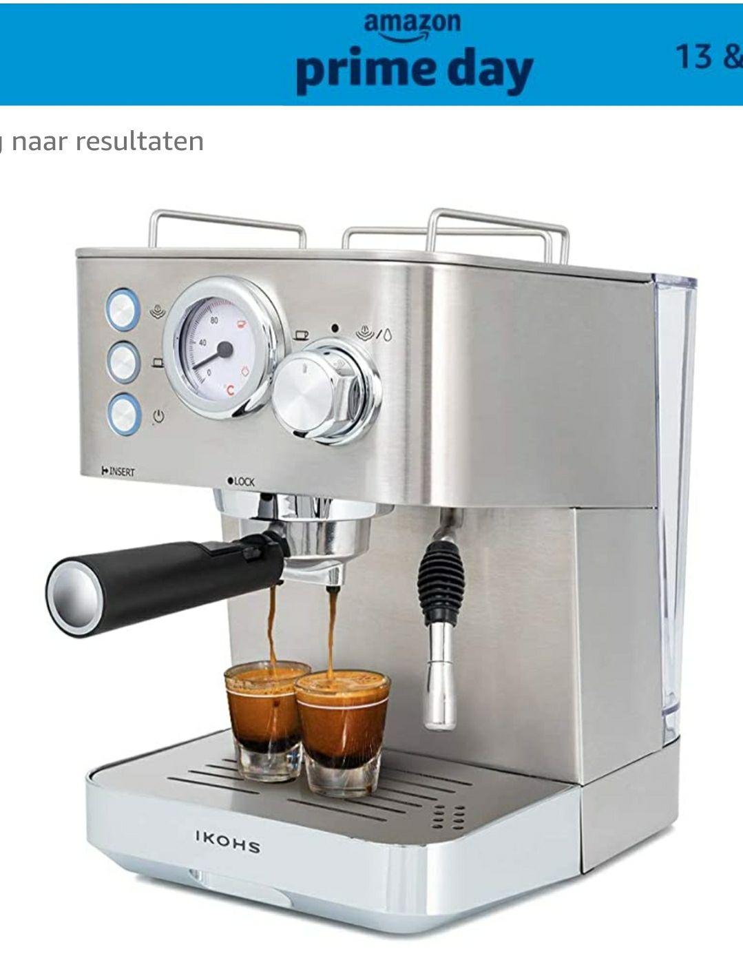 (Prime deal) IKOHS Koffie Esprit elektrisch koffiezetapparaat