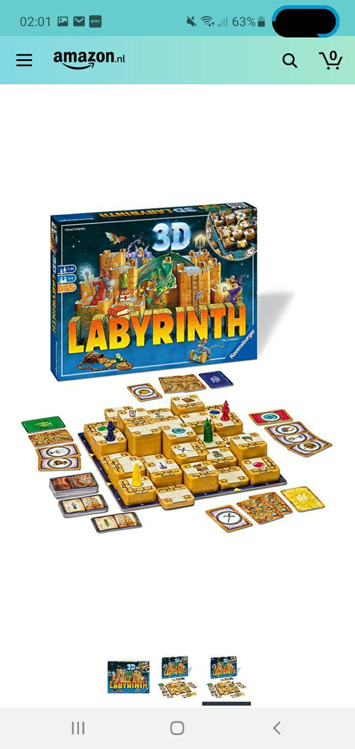 (Prime) Labyrinth 3D