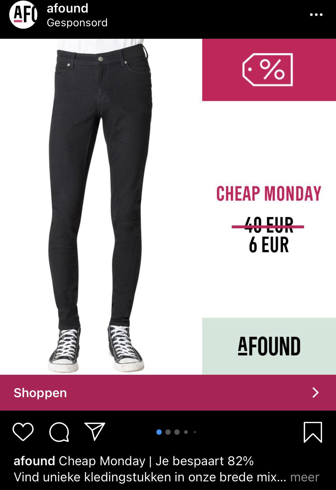 Cheap Monday skinny