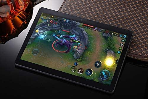 YOUXD - Android 8.1 tablet - 10 inch met 64 GB quad-core processor - 4 GB - IPS HD tablet met GPS FM WiFi 5G metalen Zwart