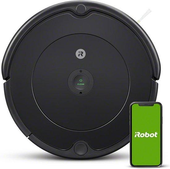 [Prime] Irobot Roomba 692 Stofzuigerrobot, Optimaal voor Tapijten en Harde Vloeren, Dirt Detect, 3-Fasen-Reinigingssysteem, Zwart