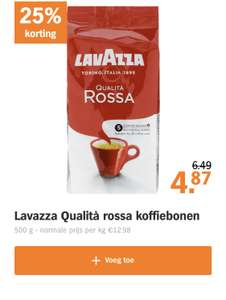 Lavazza Rossa arabica in de bonus