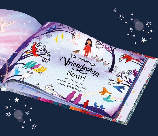 Opnieuw 25% korting op gepersonaliseerde kinderboeken