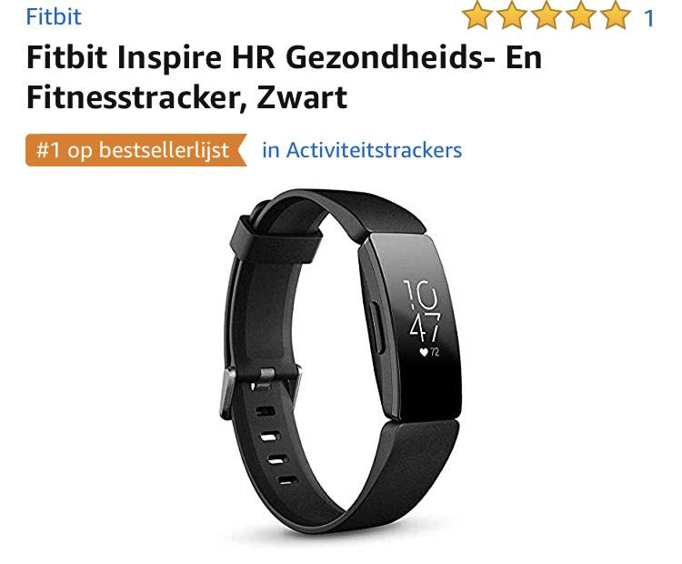 FitBit Inspire HR (Zwart)