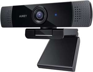 [Prime] Aukey PC-LM1 Webcam, 1080P Full HD