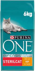 [Prime day] Purina One sterilcat Kip 6 KG (€2.37/kg)