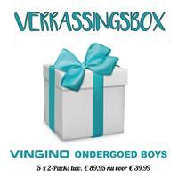 Vingino onderbroeken voor jongens en meisjes. Set van 5x2 verrassingsbox