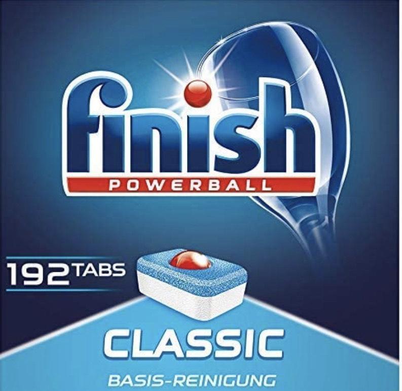 [DE PRIME] Grootverpakking met 192 Finish Powerball tabs