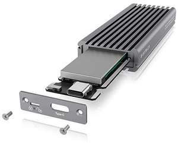 ICY Box M.2 NVMe SSD Behuizing, USB 3.1 C Amazon NL