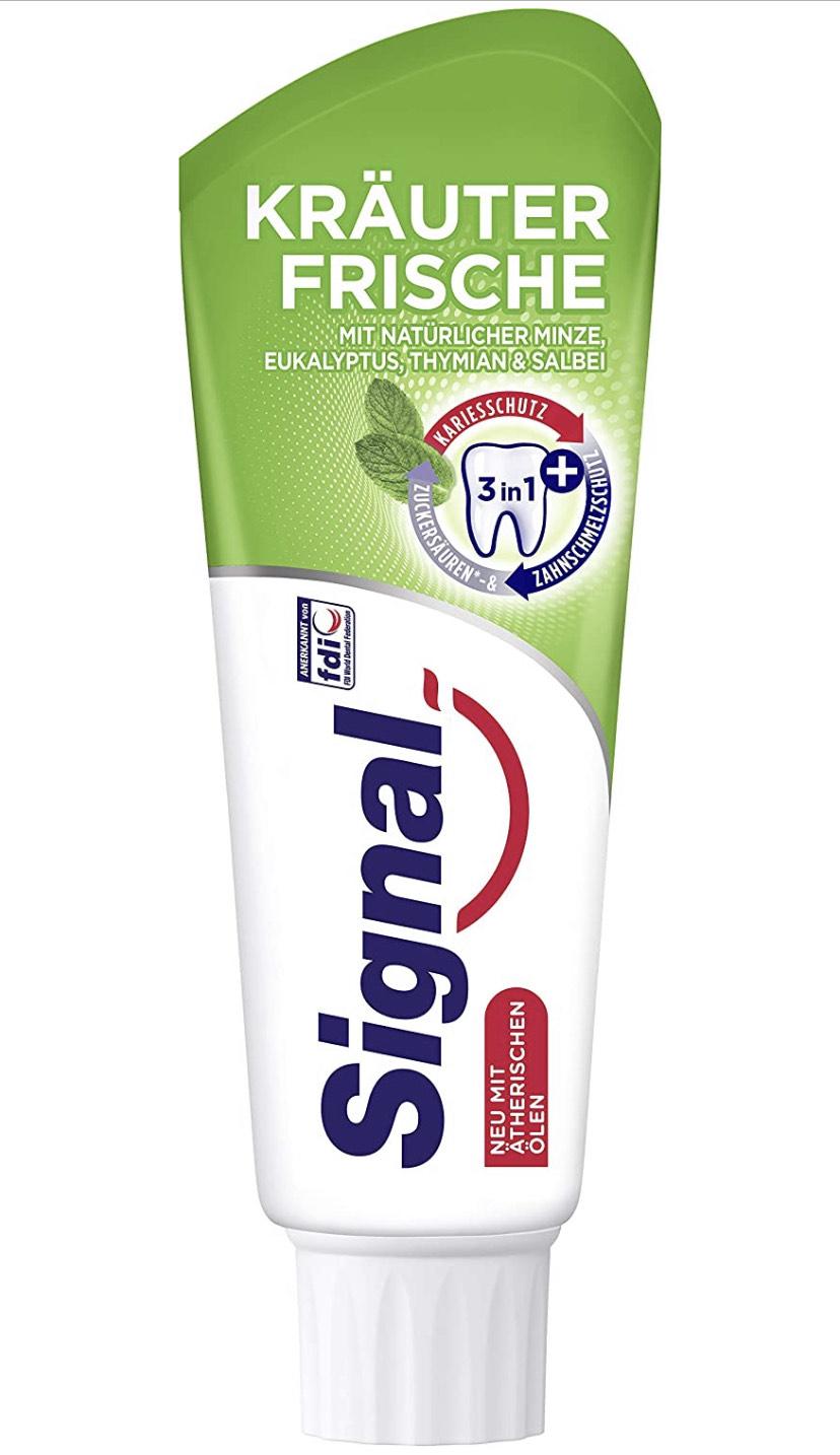 [PRIME DE] 12 tubes Signal (=Prodent) Kräuterfrische tandpasta