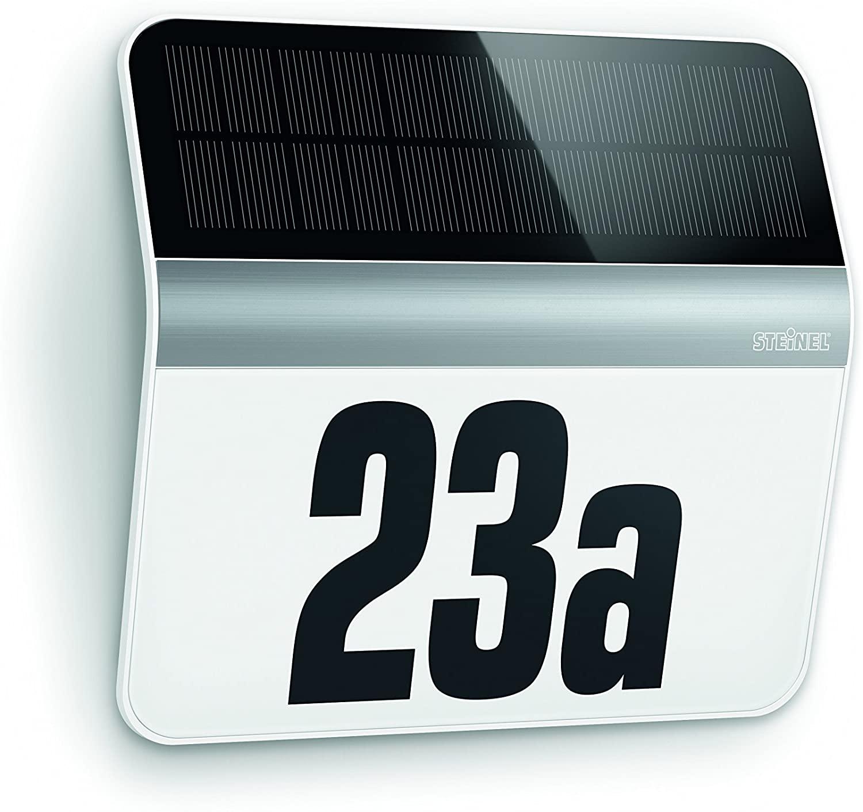 (Prime NL) Steinel Huisnummerlamp Op Zonne-Energie (Bevat lichtsensor)