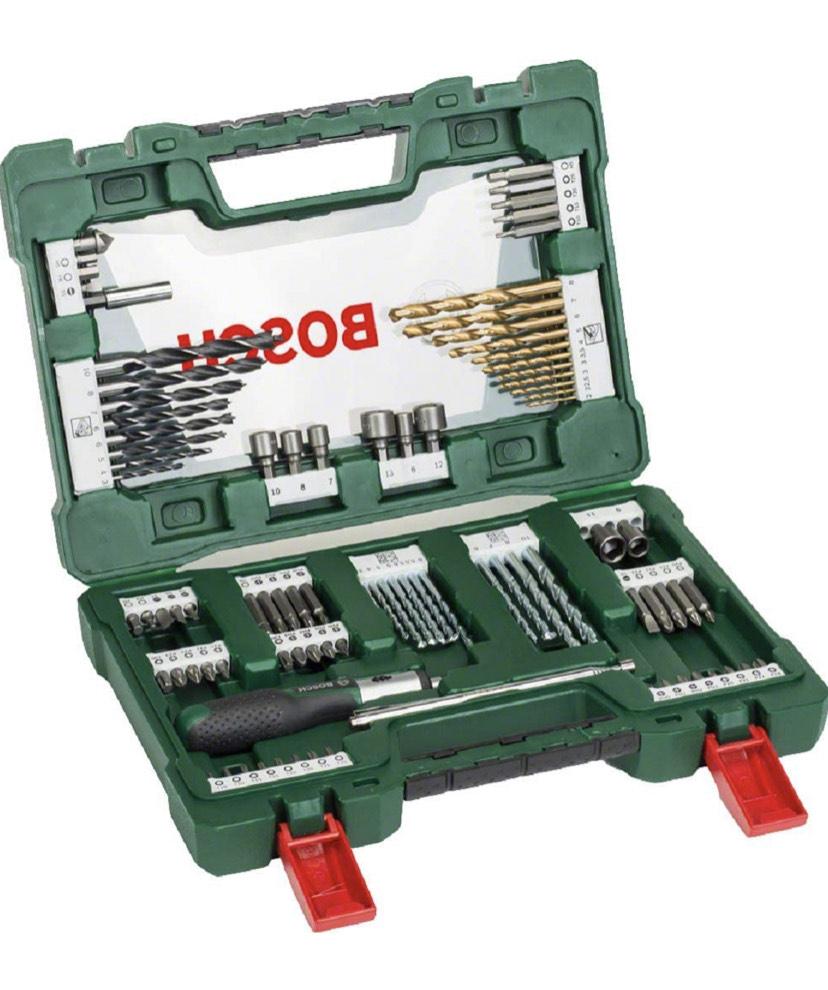 [PRIME NL] Bosch 91-delige Titanium boren- en bitset V-Line (voor hout, steen en metaal)
