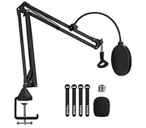 [Prime deal] Tonor T20 - stevige microfoon arm + cable binders, pop filter & windscreen