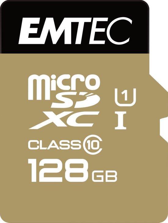 Emtec microSDXC Class10 Gold+ 128GB