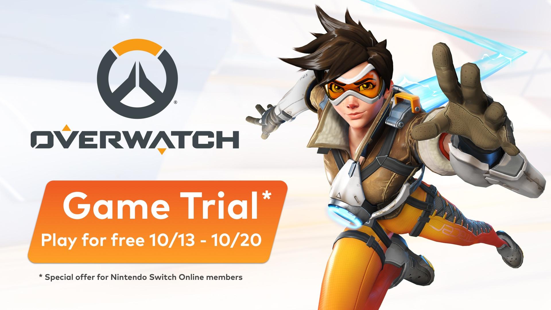 Overwatch een week lang gratis te spelen voor Nintendo Switch online members
