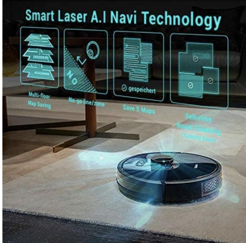 [PRIME DE] Zigma Spark Robotstofzuiger met dweilfunctie & LDS navigatie