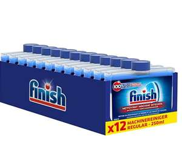 Finish Machinereiniger Regular - 250 ml x12