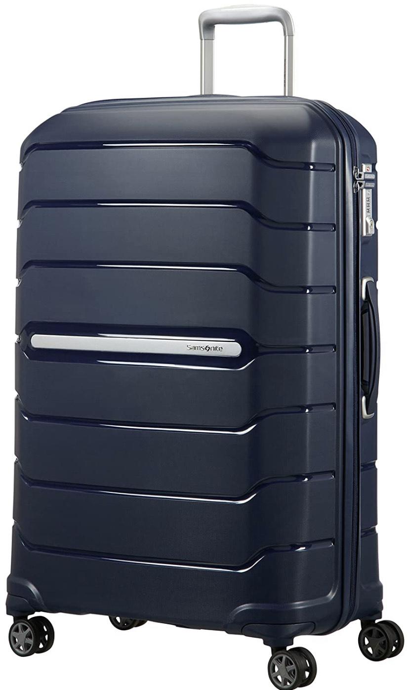 [PRIME DE, last minute!] Samsonite Flux Spinner Expandable koffer (L, 111 liter)