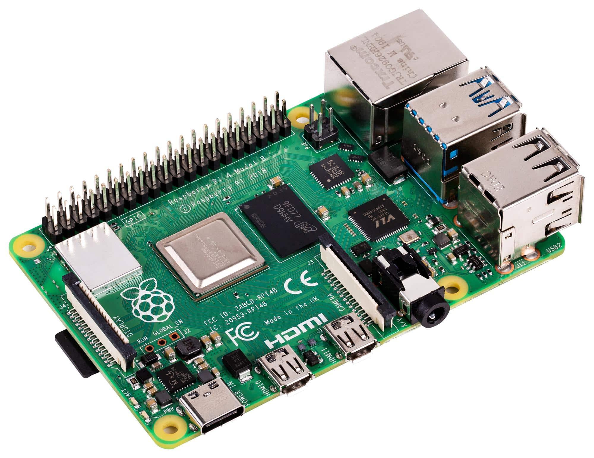 5 euro korting op Raspberry Pi 8GB!
