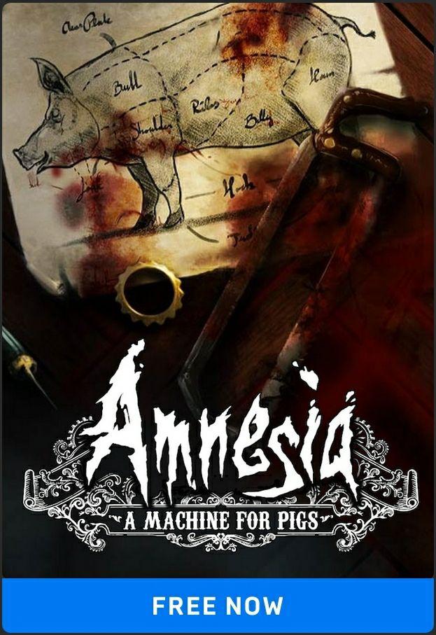 Amnesia - A machine for pigs Gratis in de epic store