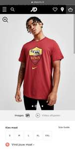 Nike AS Roma Crest Short Sleeve T-Shirt